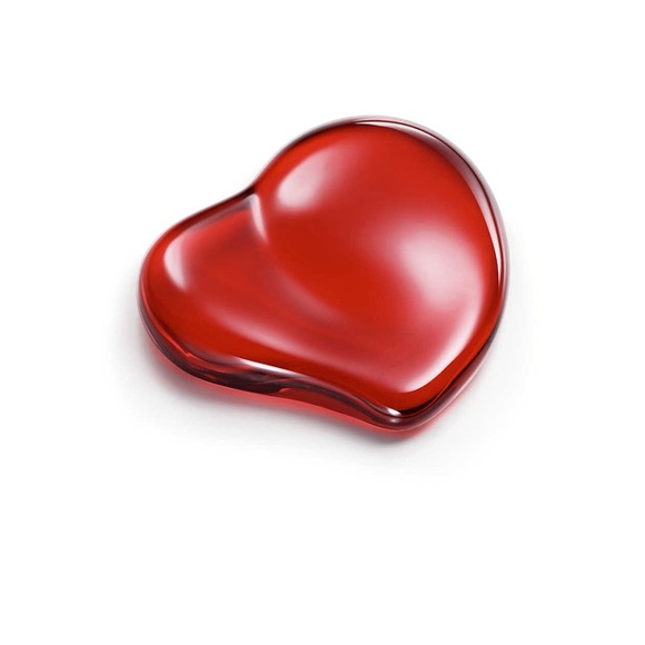 c9f42c6a626 Tiffany and Co. Elsa Peretti Red Heart Paperweight